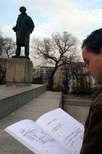 BRNO estatua Janáček